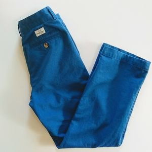 Vineyard Vines Blue Khaki Style Pants